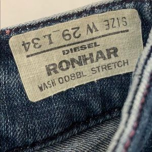 Diesel RONHAR wash 008BL - Stretch